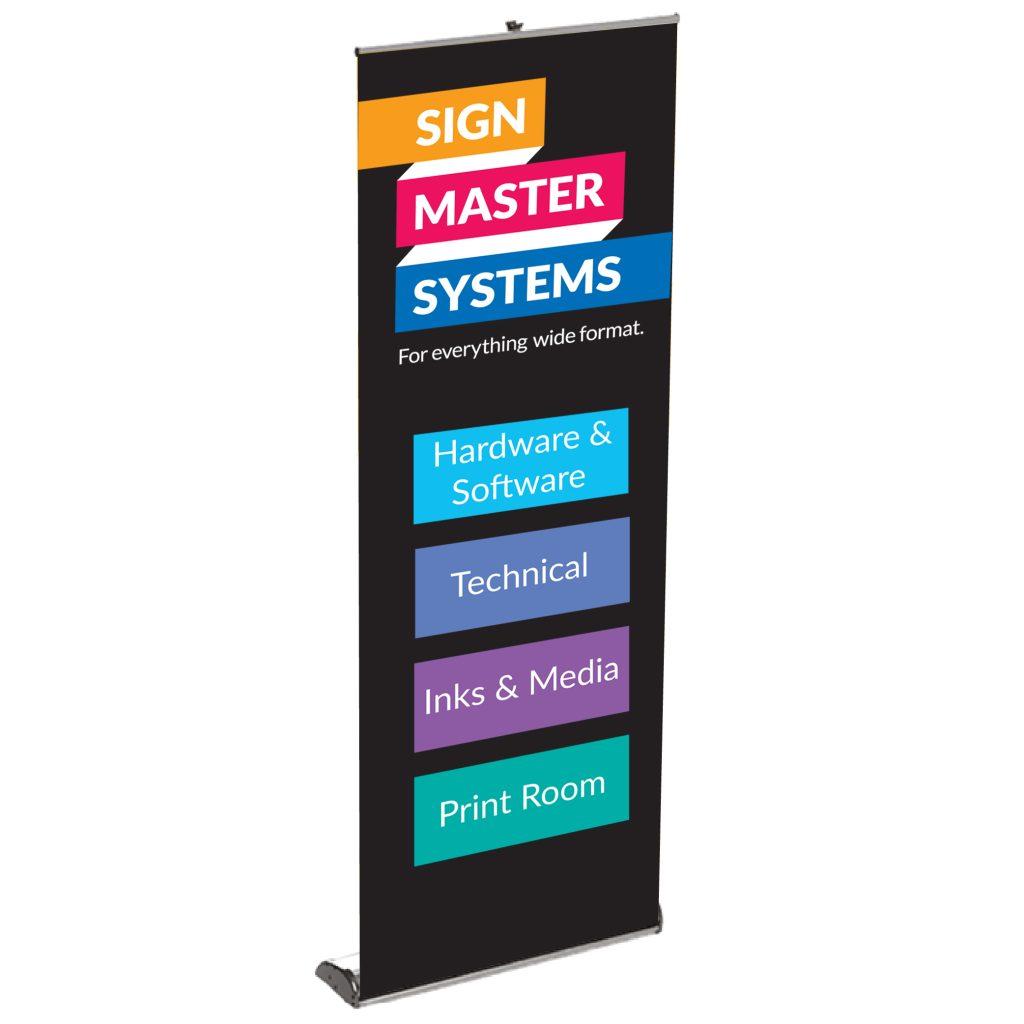 Signmaster Pull up Banner Cassette