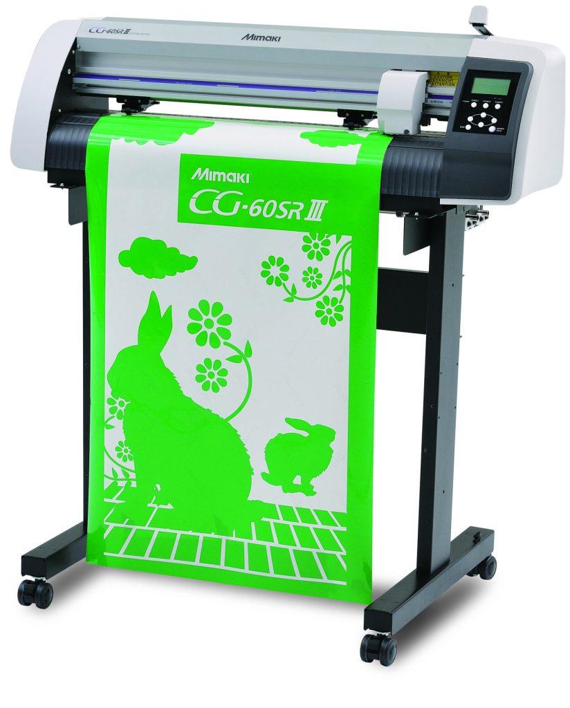 Mimaki CG-60SRIII Series Vinyl Cutter with stand