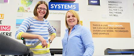 Customers the key for Signmaster development