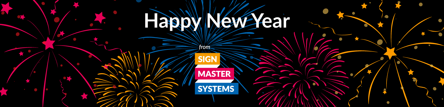 Happy New Year from Signmaster