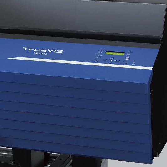 Roland TrueVIS VG-2 operation panel