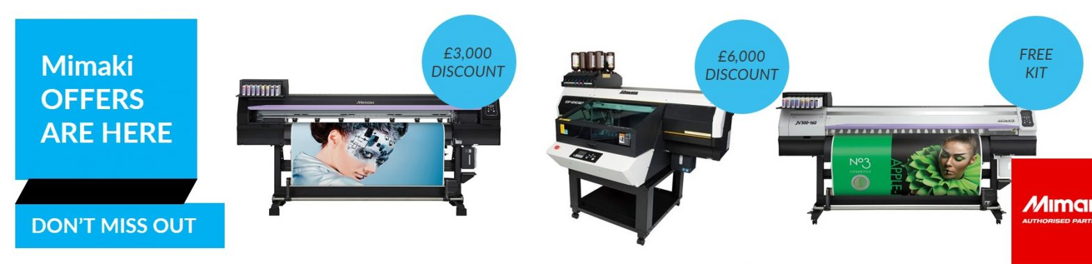 Mimaki Offers July 2019