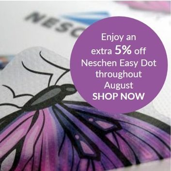 Enjoy an extra 5% off Neschen Easy Dot throughout August