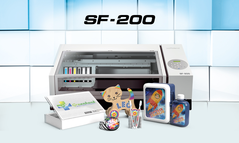 The World's First Desktop Flatbed Eco-Solvent Print