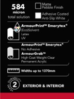 Armourprint Emerytex and Armourgrab