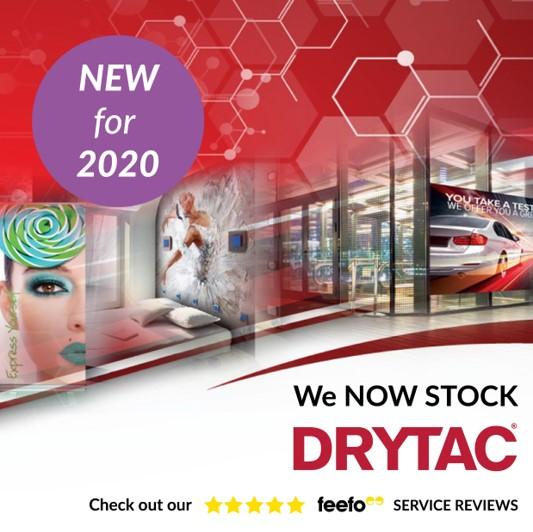 Signmaster Systems now stock Drytac print media