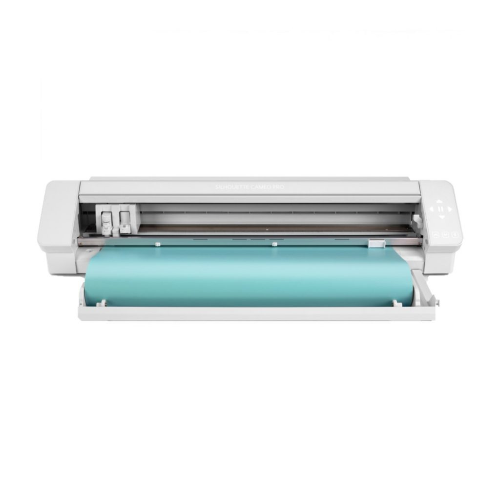 silhouette cameo 4 pro - front with roll