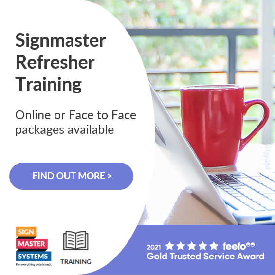 New Refresher Training from Signmaster