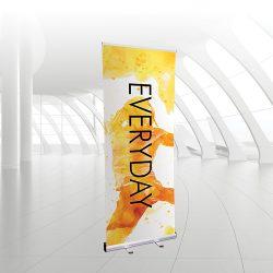 Everyday roller banner