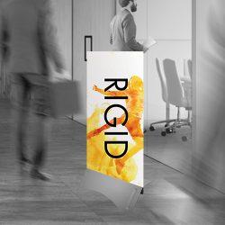 Rigid banner